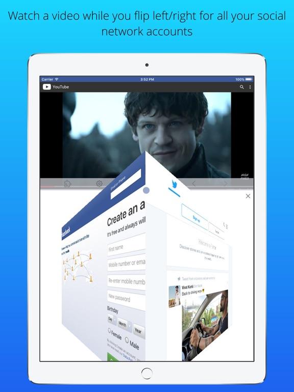 Split Screen Multitasking View Screenshots