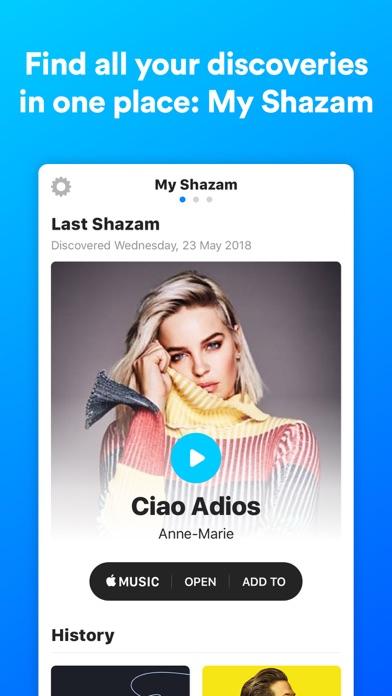Shazam Encore Screenshots