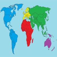 blank world map quiz : countries geograpy trivia app