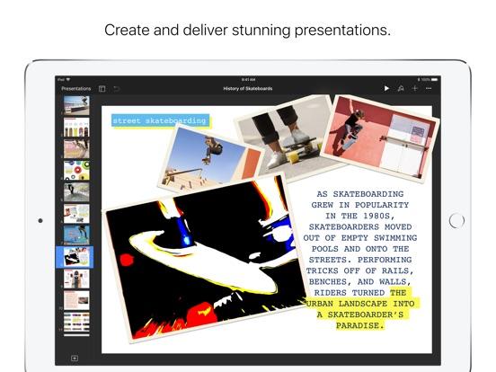 Keynote Screenshots