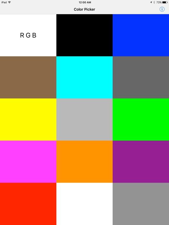 Color Savvy Screenshots