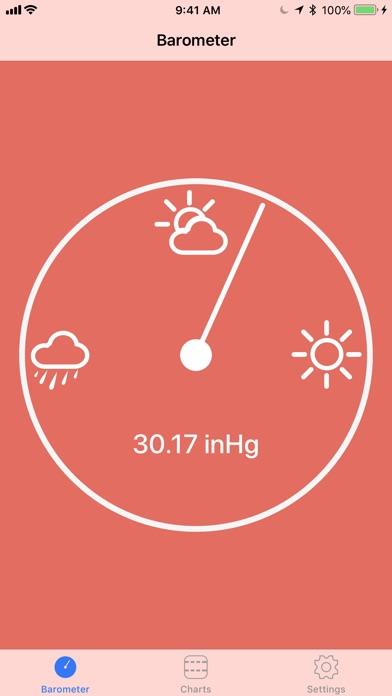 Digital Barometer S10 Screenshots