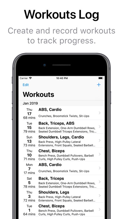Gym Assistant - Fitness Coach Screenshots