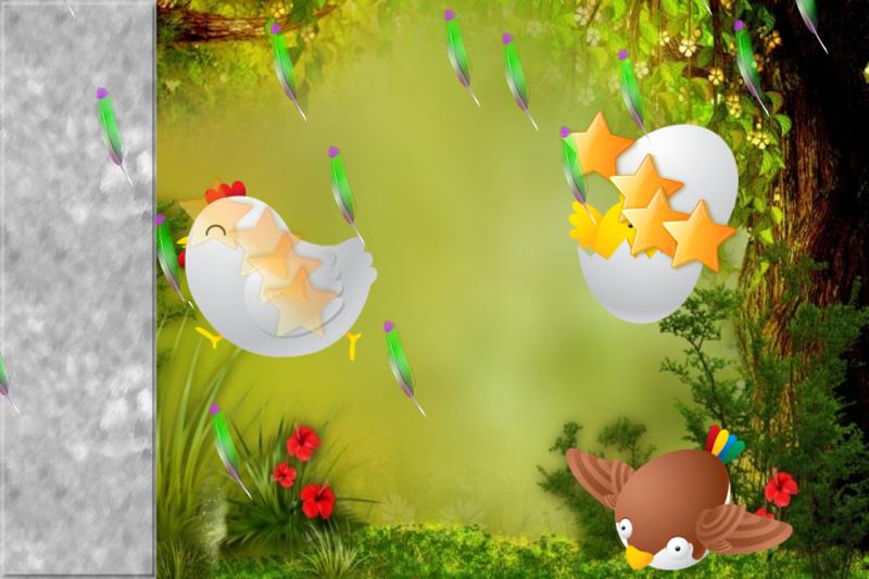 鸟类幼儿和孩子 儿童游戏 拼图婴儿幼儿拼图
