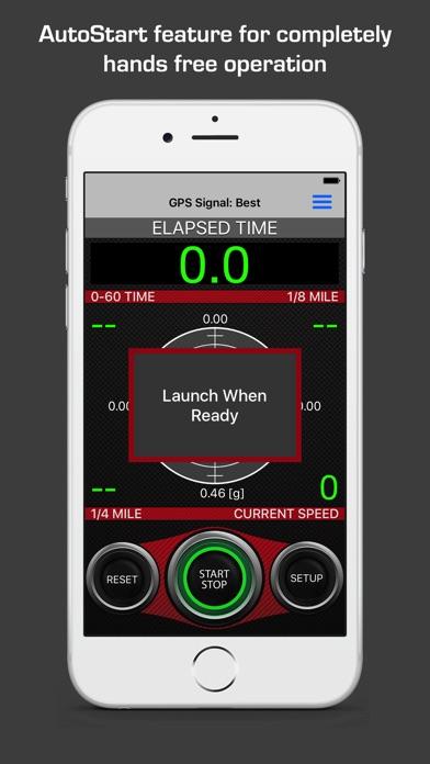 TrackStats - Race Timer Screenshots