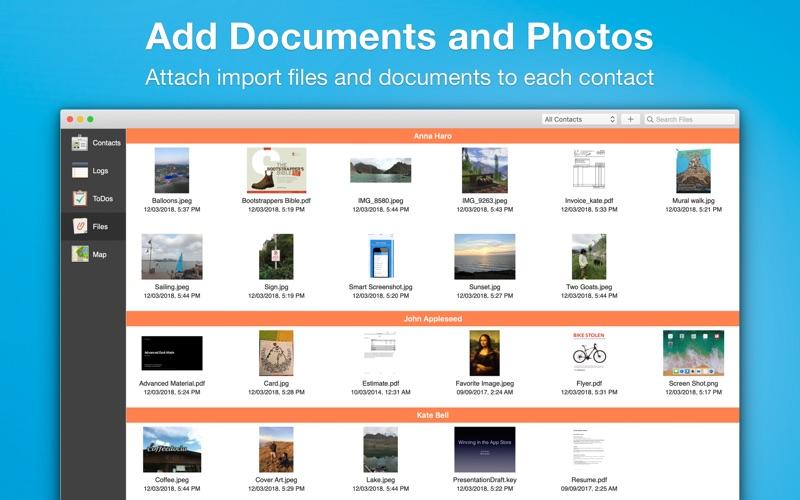 Contacts Journal CRM Screenshots