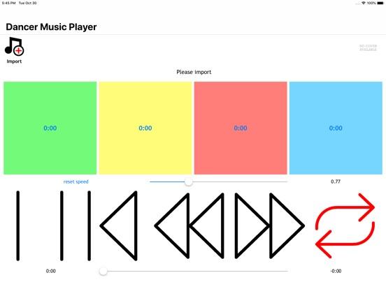 Dancer Music Player Screenshots