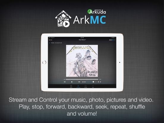 ArkMC Pro UPnP media streaming Screenshots