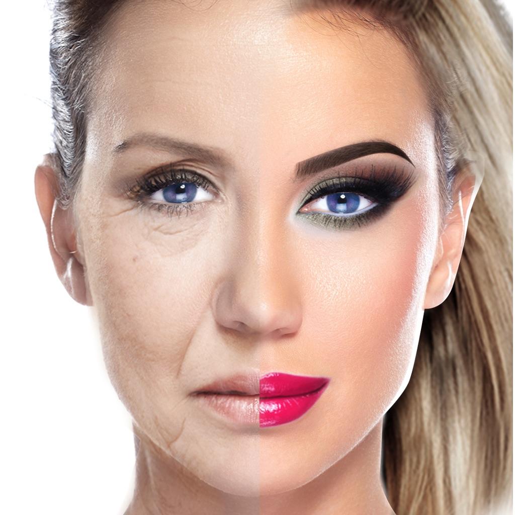 Фотошоп с фотографиями макияж