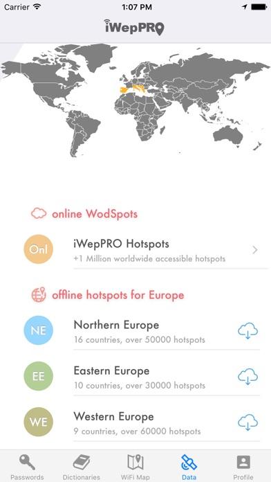 iWepPRO Screenshots