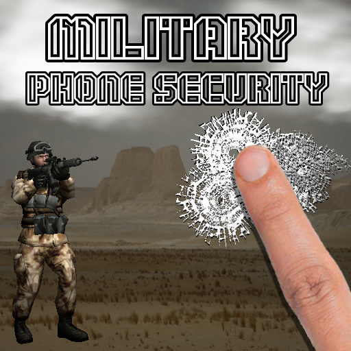 Finger Military Phone Security icon