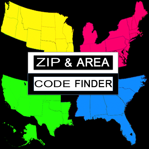 Zip & Area Code Finder - Free