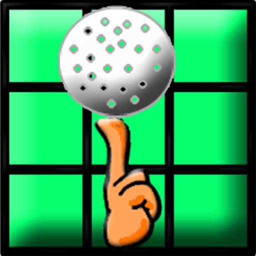 finger golf icon