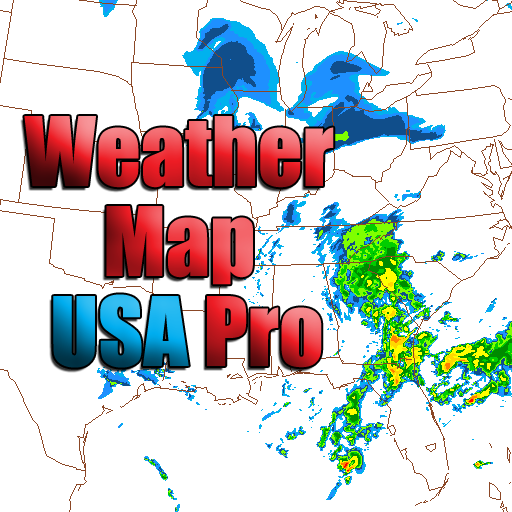 Weather Map USA Pro