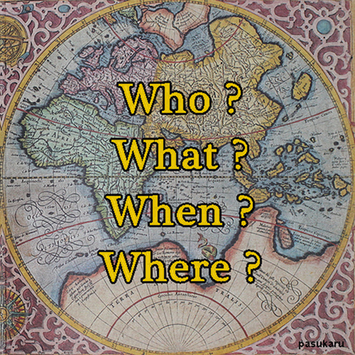 Who What When and Where Trivia - FREE icon