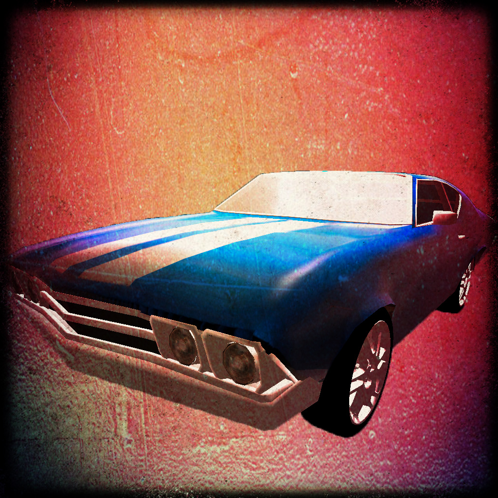 Retro Car Builder 3D Pro - Custom Body Shop and Classic Car Cruiser icon
