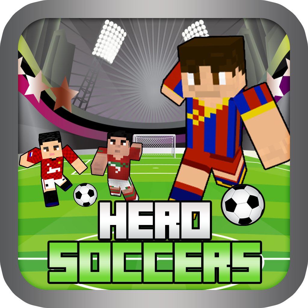 Soccer Hero Skin Finding Ball Free - World Cup Block Craft Worlds Edition