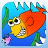 弱肉強食ゲーム- JakNik(ジャクニク)〜無料でモンスターフィッシュを育成 釣りしてコレクションする暇つぶしサバイバルアクション〜ブレイブ最強の人気フィッシュサバゲーを是非! iPhone