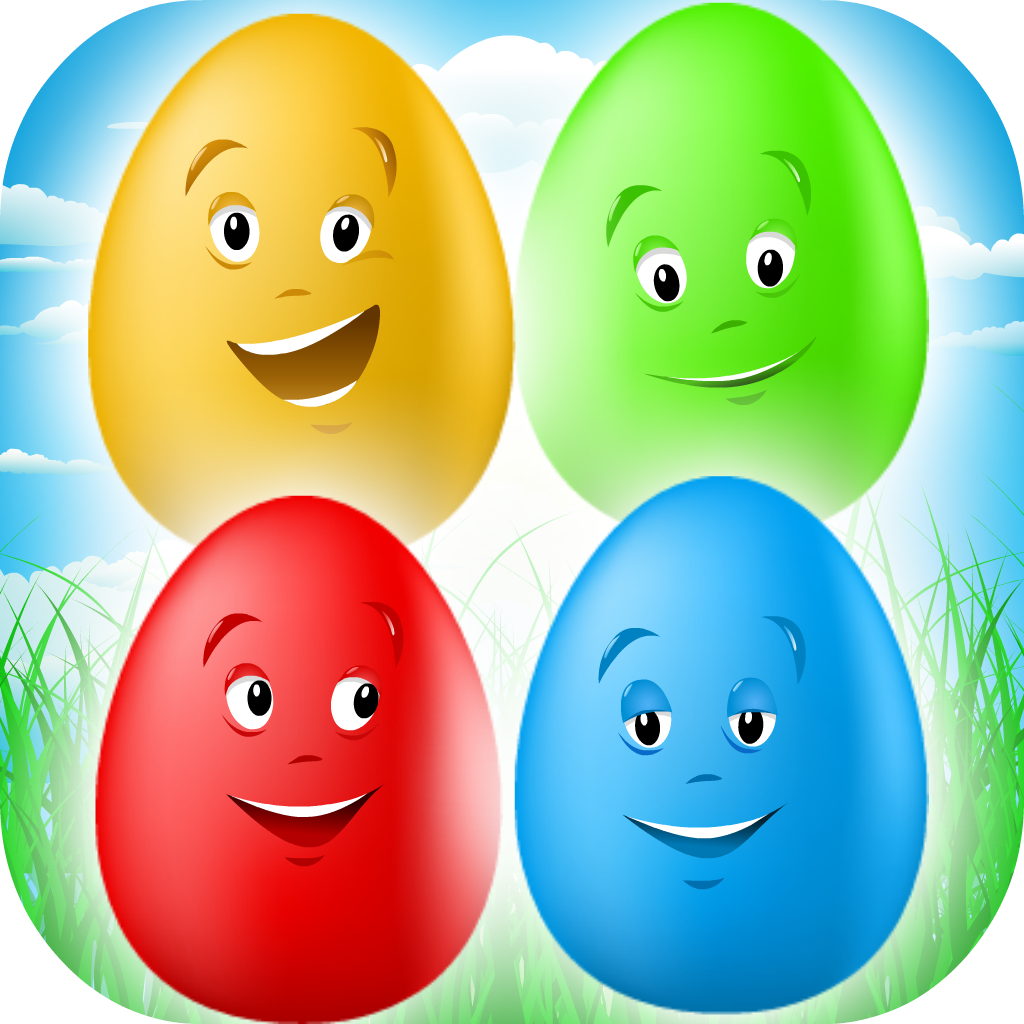 Smiley Eggs - Emoji Match-3 Mania Game for Boys, Girls and Kids