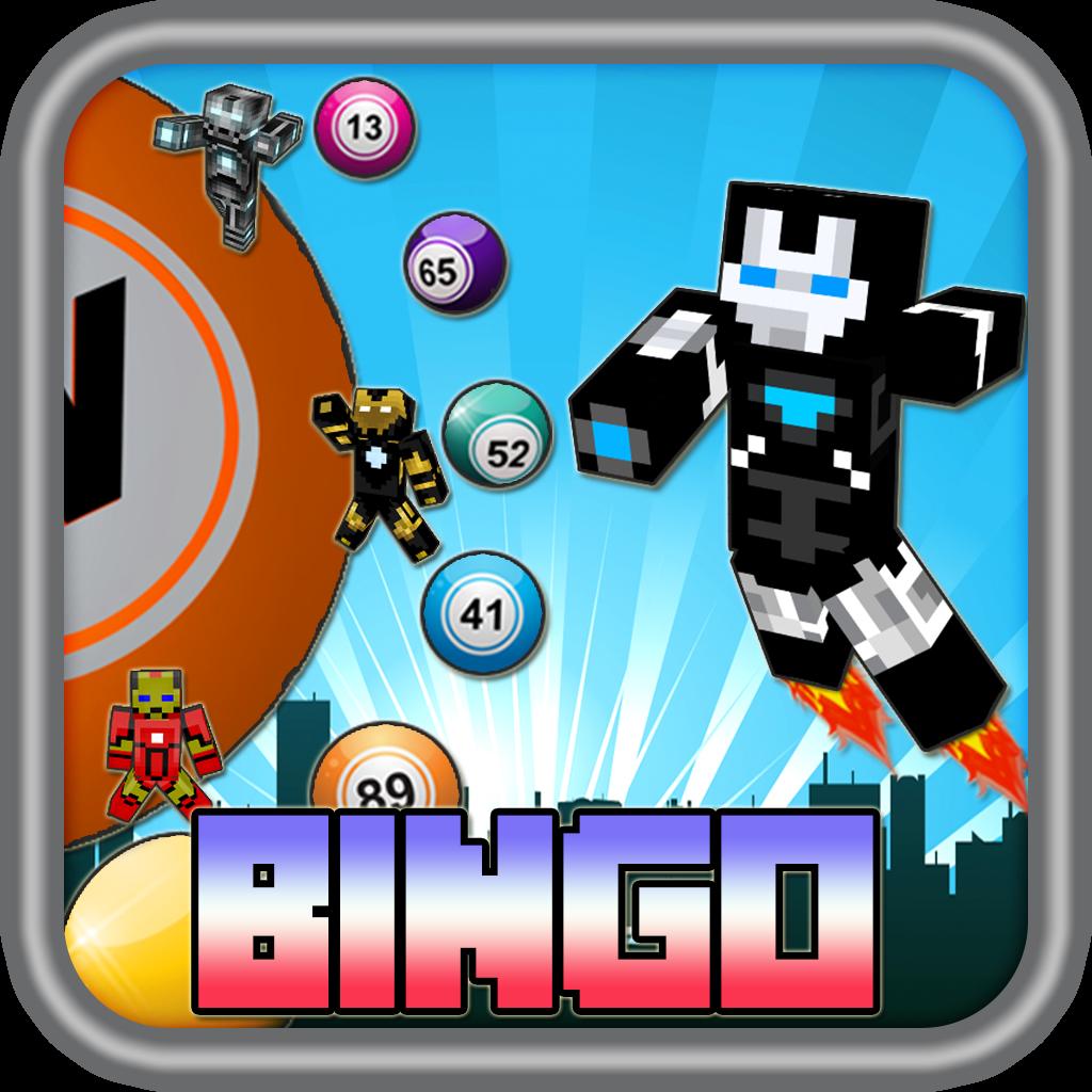 Iron Blocks Bingo Blitz Pro - man & boy edition
