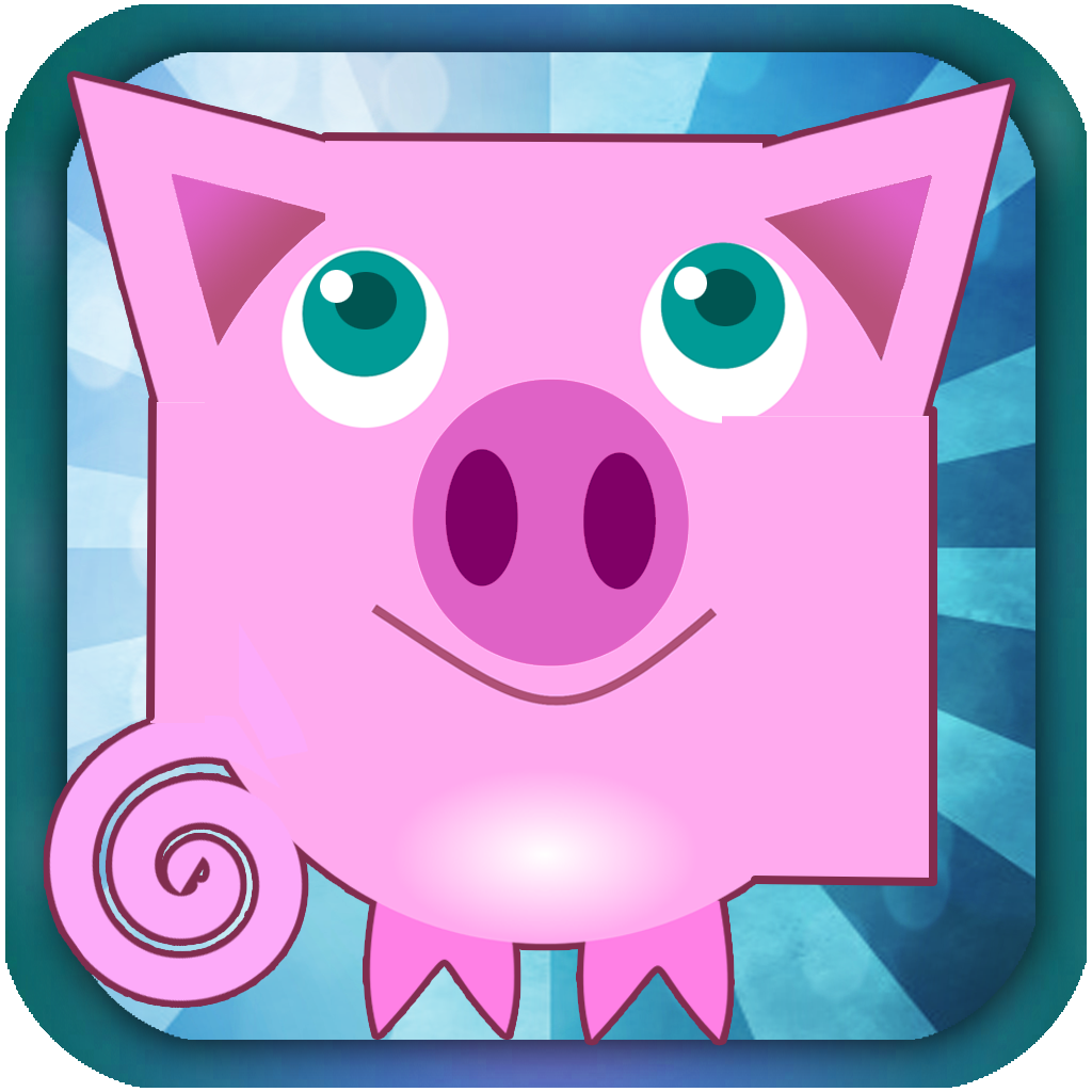 PigMe Farm Craft 3D - Flying Pig Racer and Skin Changer