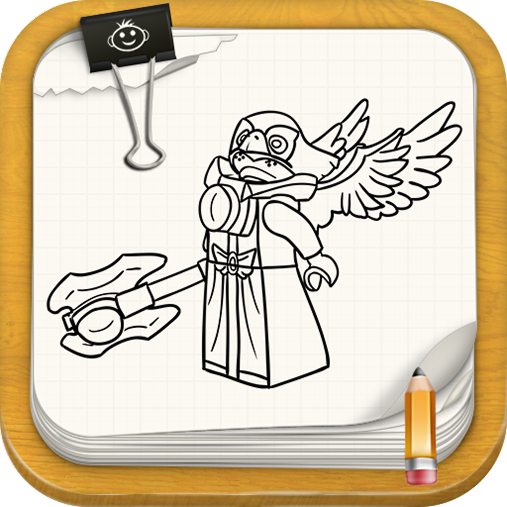 Learn To Draw : Chima Edition Of Lego