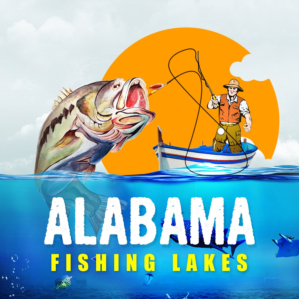 Alabama Fishing Lakes icon