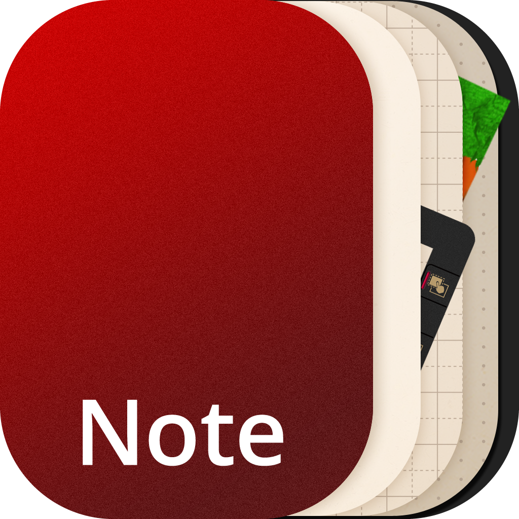 NoteLedge - Take Notes, Memo, Audio and Video Recording icon