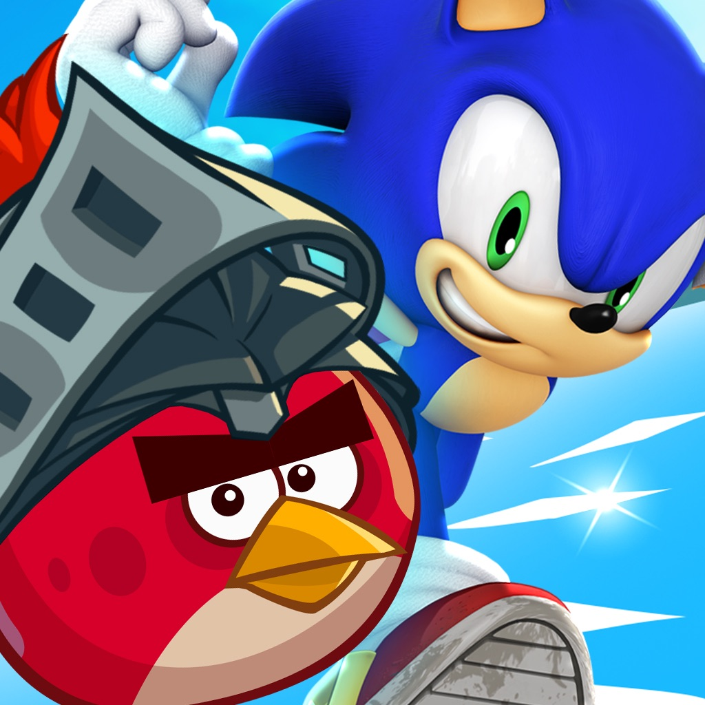 Sonic Dash: Angry Birds Epic Takeover