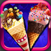 驚くばかりアイスクリームメイクオーバー - 男の子と女の子のための食品ゲーム
