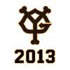 巨人軍公式アプリ「GIANTS 2013」 iPhone