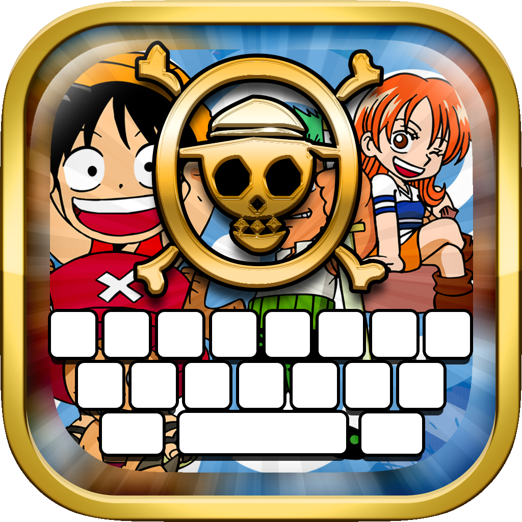 KeyCCM – Manga & Anime : Custom Color & Wallpaper Keyboard Themes in One Piece Style