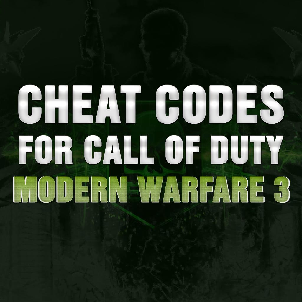 Cheat Codes for Call of Duty : Modern Warfare 3