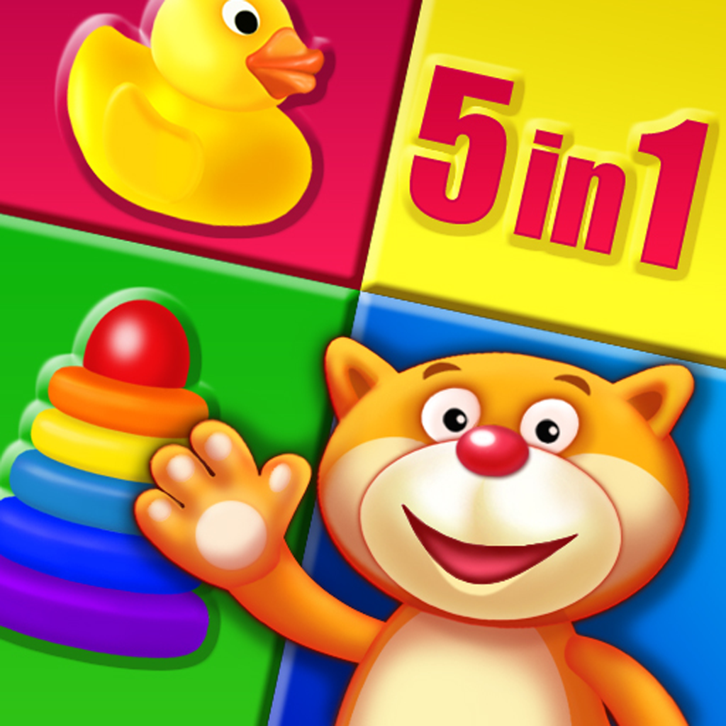 Playroom - Lessons with Max - educational preschool games collection