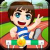 Athletics Hurdle Race Free