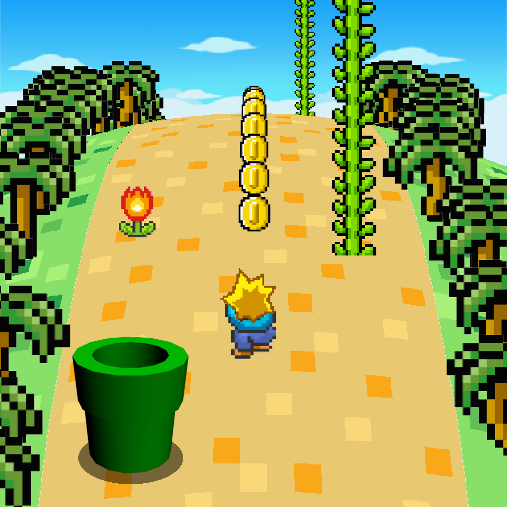 3D Pixel Land: Safari