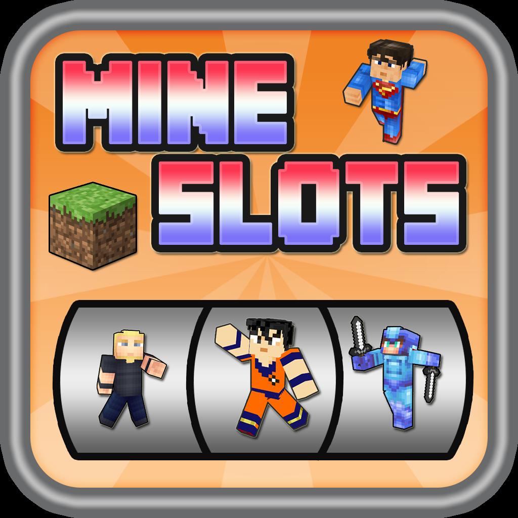 MineSlots Variety of Hero Skins - Slot Machine Block Craft World
