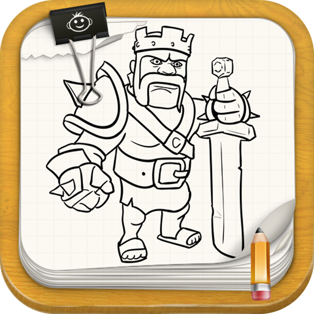 Learn To Draw : Clash Of Clans edition