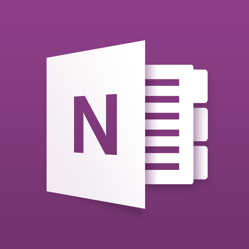 Microsoft OneNote for iPhone – notes, lists, and photos, organized in a notebook