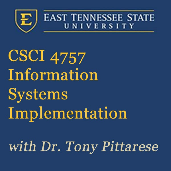 Information Systems Implementation - Fall 2014
