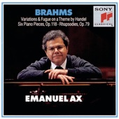 Emanuel Ax - No. 2. Intermezzo in A Major. Andante teneramente