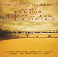 London Music Works, Hans Zimmer, Mark Ayres & The City of Prague Philharmonic Orchestra - Film Music of Hans Zimmer, Vol.1 artwork