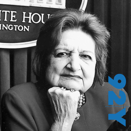 Helen Thomas at the 92nd Street Y on the Press and the President audiobook