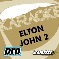 Zoom Karaoke - Zoom Platinum Artists Series, Vol. 106: Best of Elton John, Vol. 2 (Karaoke Version) artwork