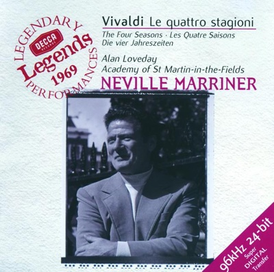 Vivaldi: The Four Seasons - Academy of St. Martin in the Fields, Alan Loveday & Sir Neville Marriner album