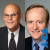 James Carville and Paul Begala - In the News with Jeff Greenfield at the 92nd Street Y featuring James Carville and Paul Begala artwork