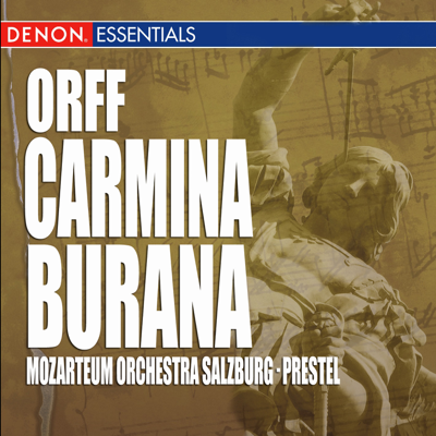 O Fortuna - Mozarteum Orchestra Salzburg & Kurt Prestel song