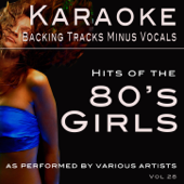 Hits of the 80's Girls (Backing Tracks)