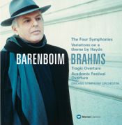 Brahms: Symphonies Nos. 1-4, Variations on a Theme By Haydn - Chicago Symphony Orchestra & Daniel Barenboim - Chicago Symphony Orchestra & Daniel Barenboim