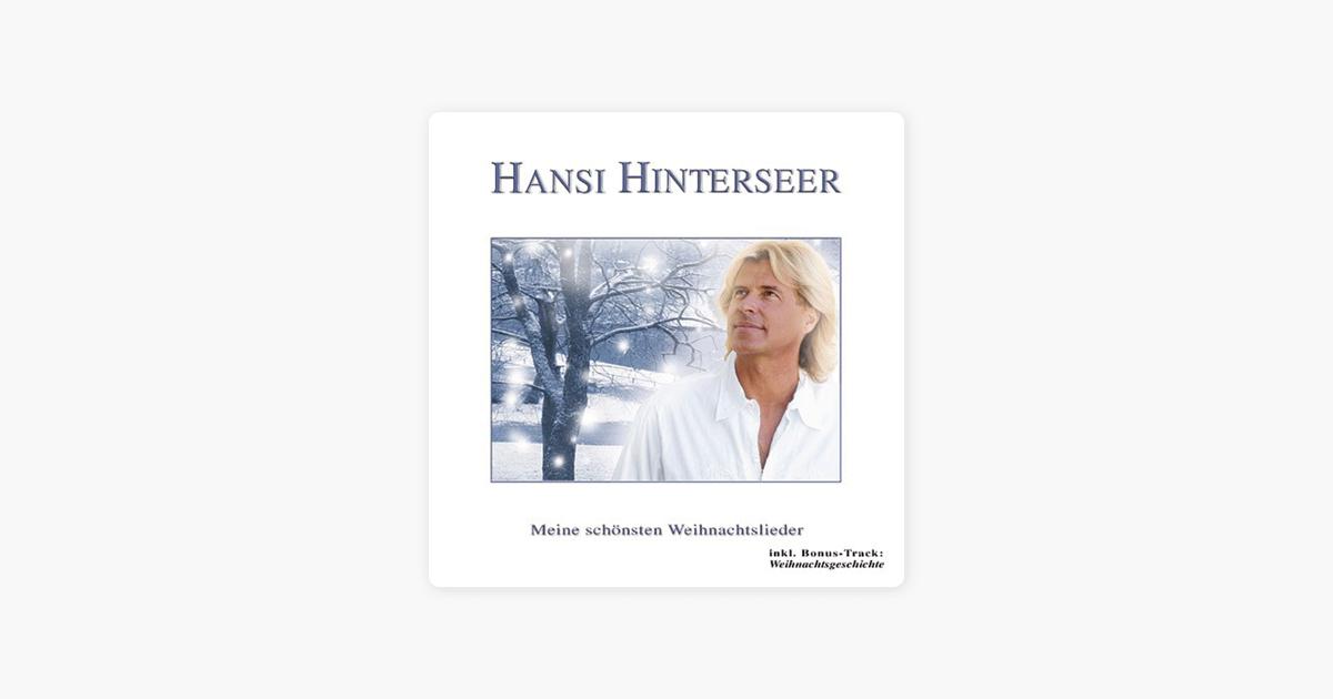 """Meine schönsten Weihnachtslieder"""" von Hansi Hinterseer bei Apple Music"""